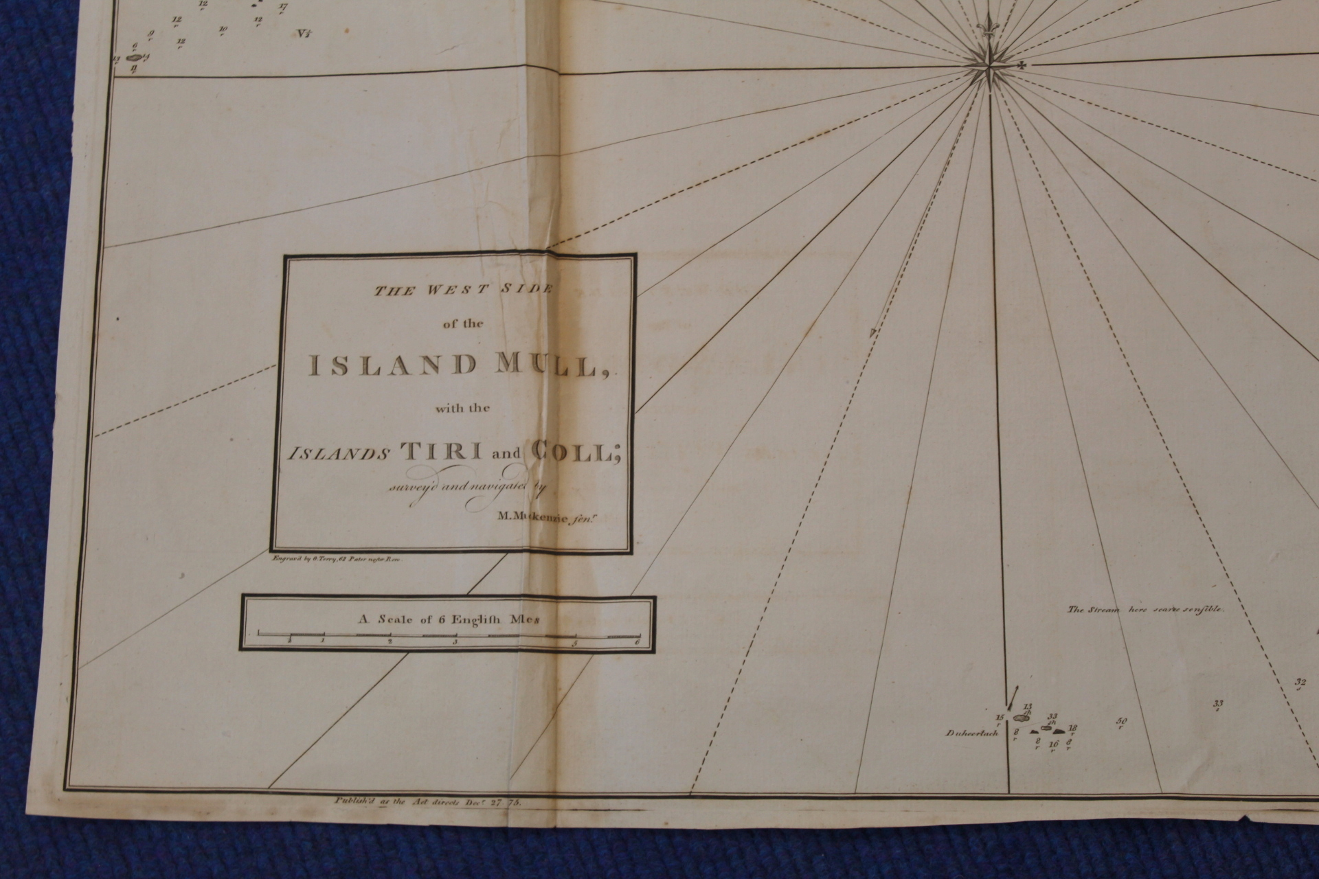 MACKENZIE MURDOCH (SNR.).A General Chart of the West Coast & Western Islands of Scotland from - Image 28 of 66