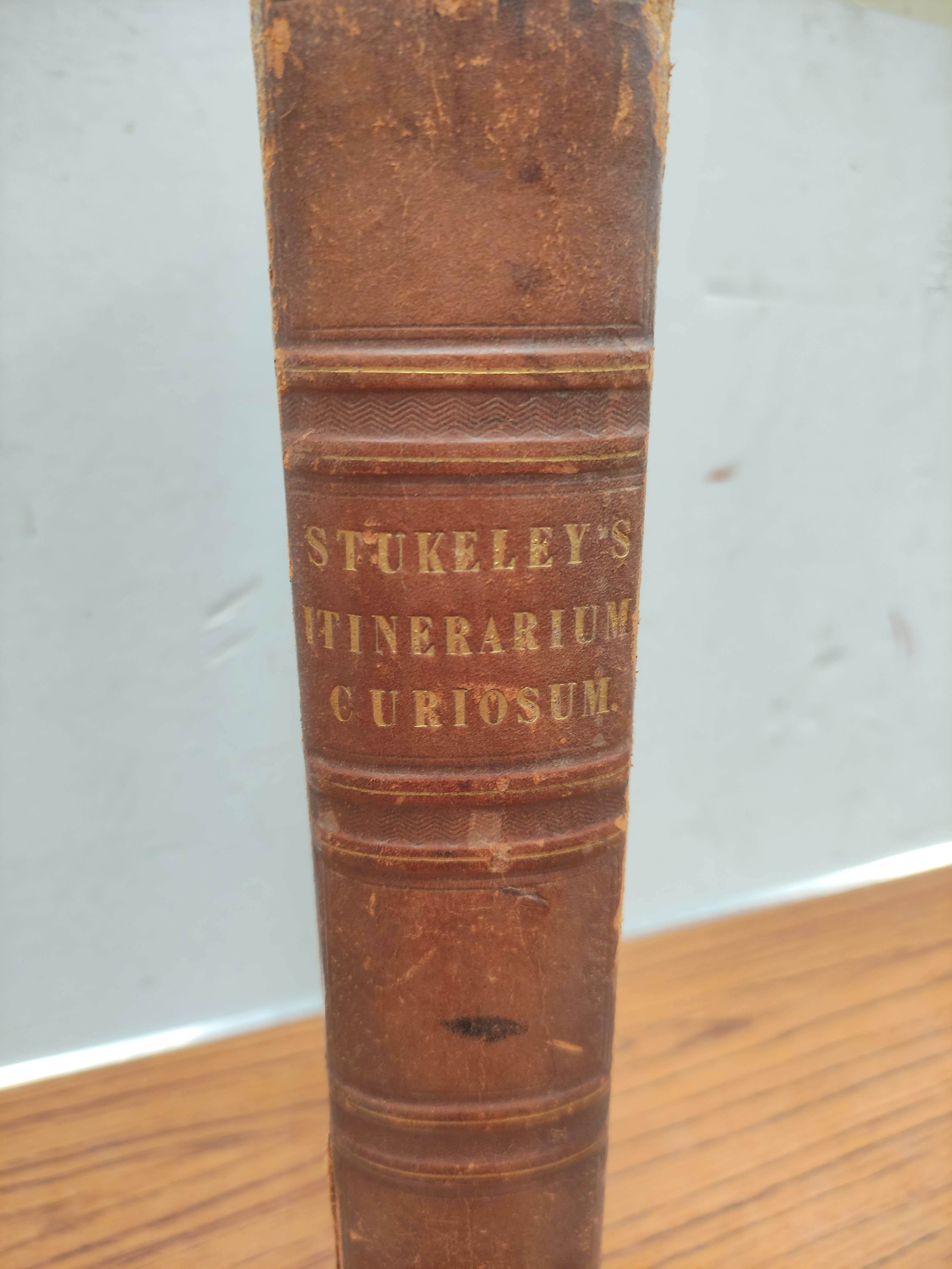STUKELEY WILLIAM.Itinerarium Curiosum or An Account of the Antiquities & Remarkable Curiousities - Image 3 of 10