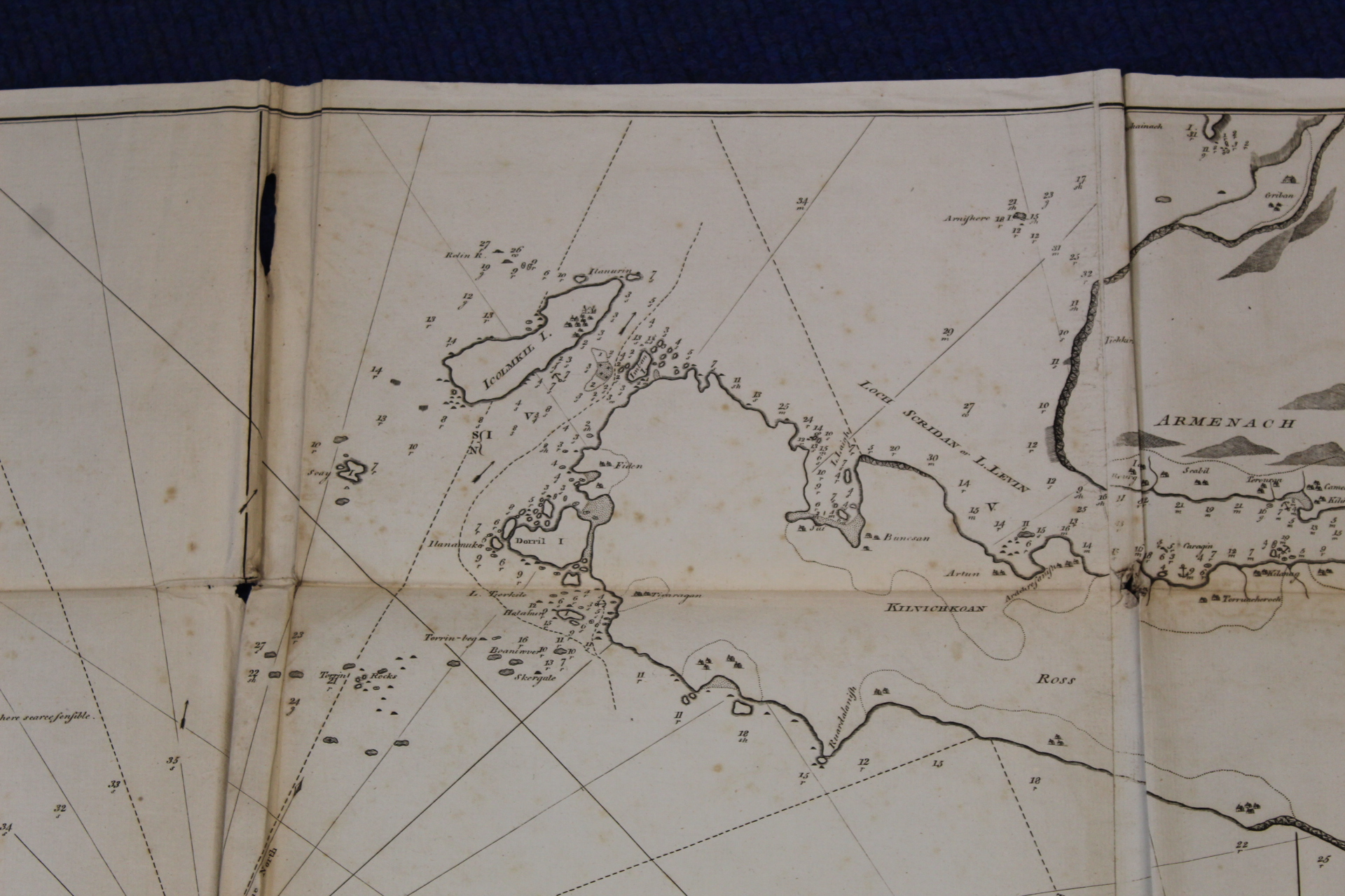 MACKENZIE MURDOCH (SNR.).A General Chart of the West Coast & Western Islands of Scotland from - Image 59 of 66