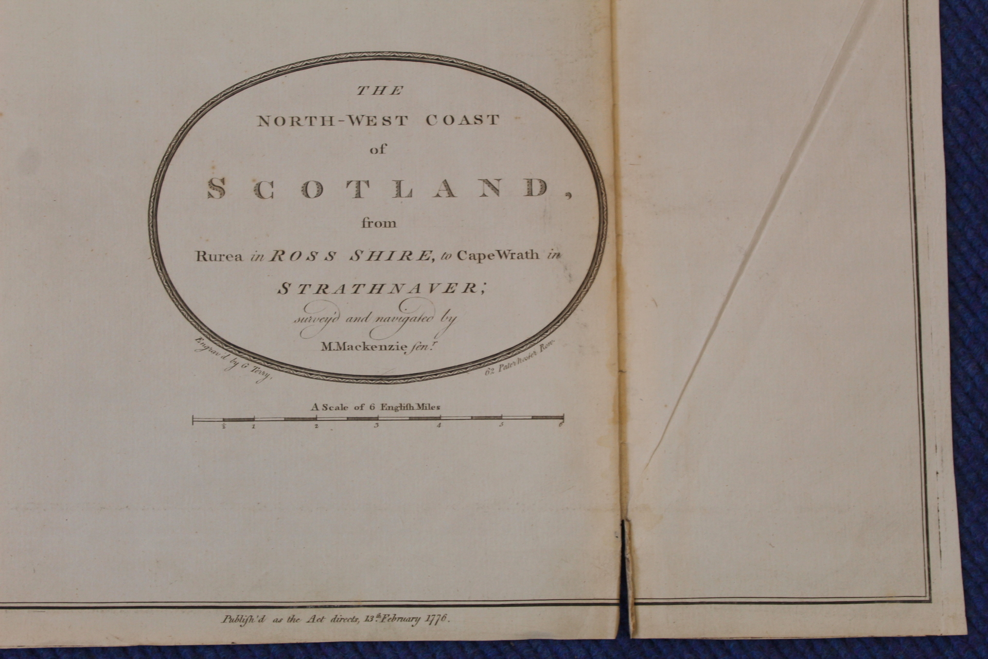 MACKENZIE MURDOCH (SNR.).A General Chart of the West Coast & Western Islands of Scotland from - Image 33 of 66