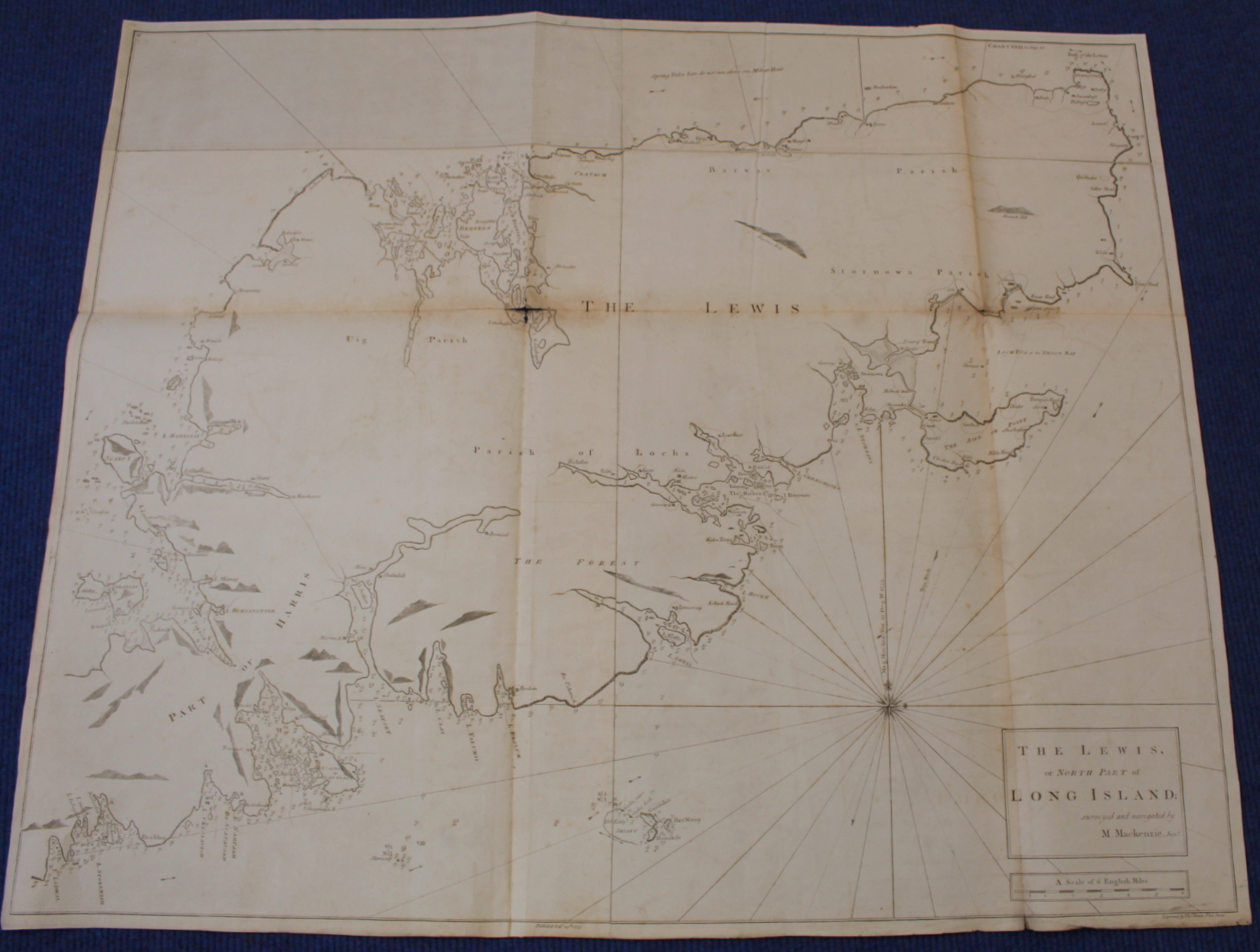 MACKENZIE MURDOCH (SNR.).A General Chart of the West Coast & Western Islands of Scotland from - Image 18 of 66