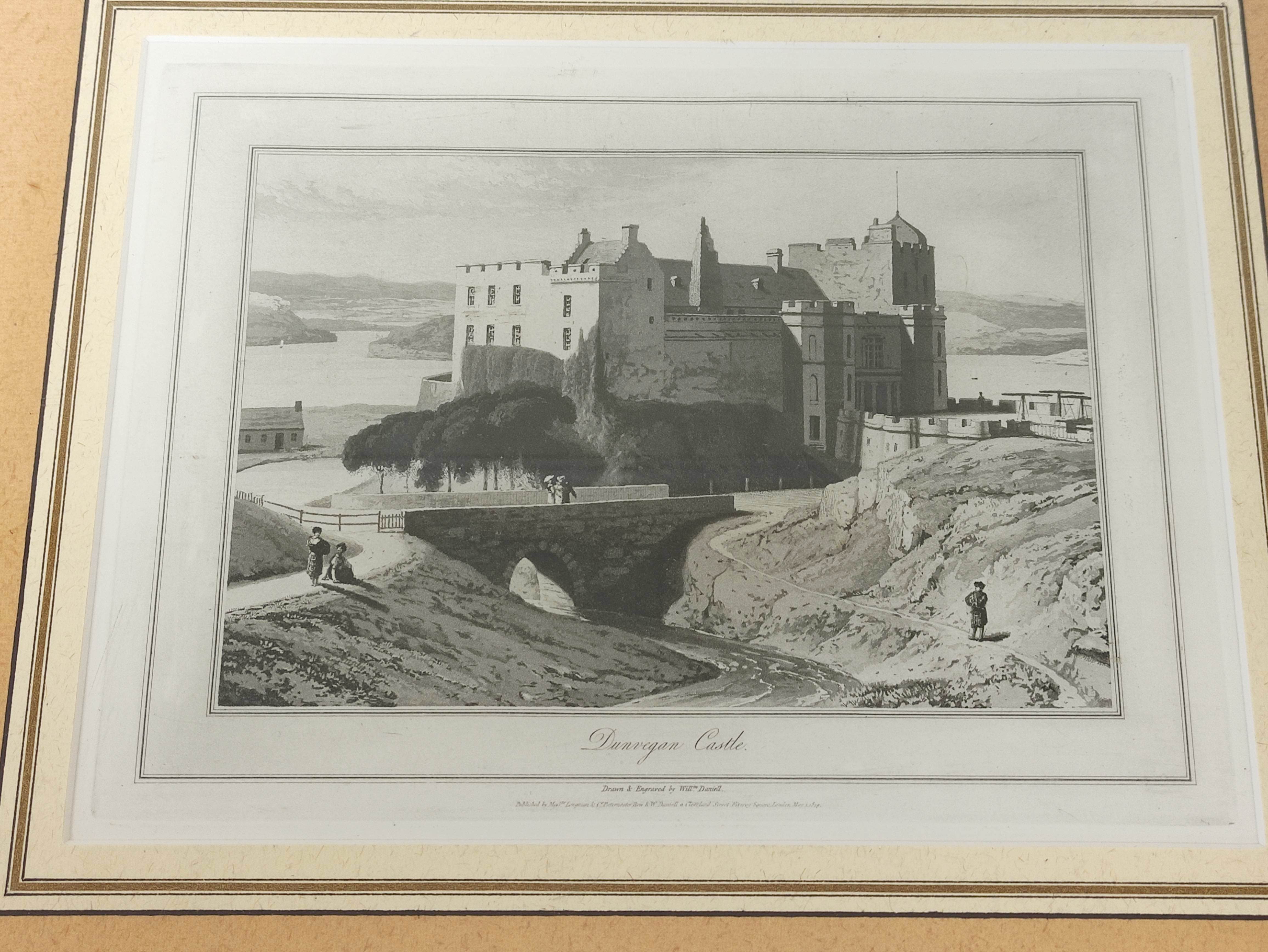 HORATIO McCULLOCH.Coast of Sleate, Isle of Skye, hand coloured lithograph; also 4 other - Image 3 of 5