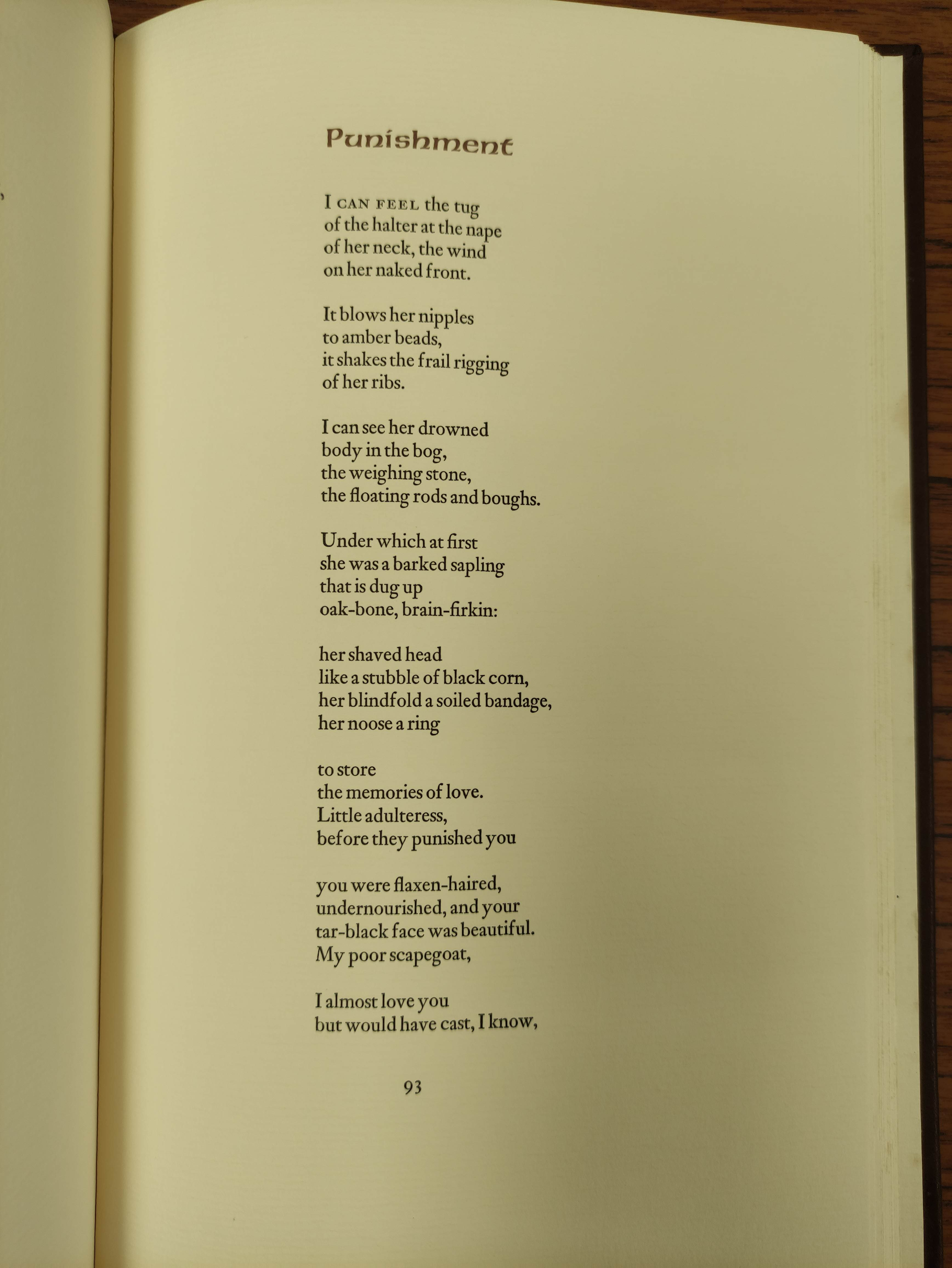 HEANEY SEAMUS.Poems & Memoir. Signed ltd. ed. 1197/2000. Plates. Folio. Calf in slip case. Limited - Image 8 of 8