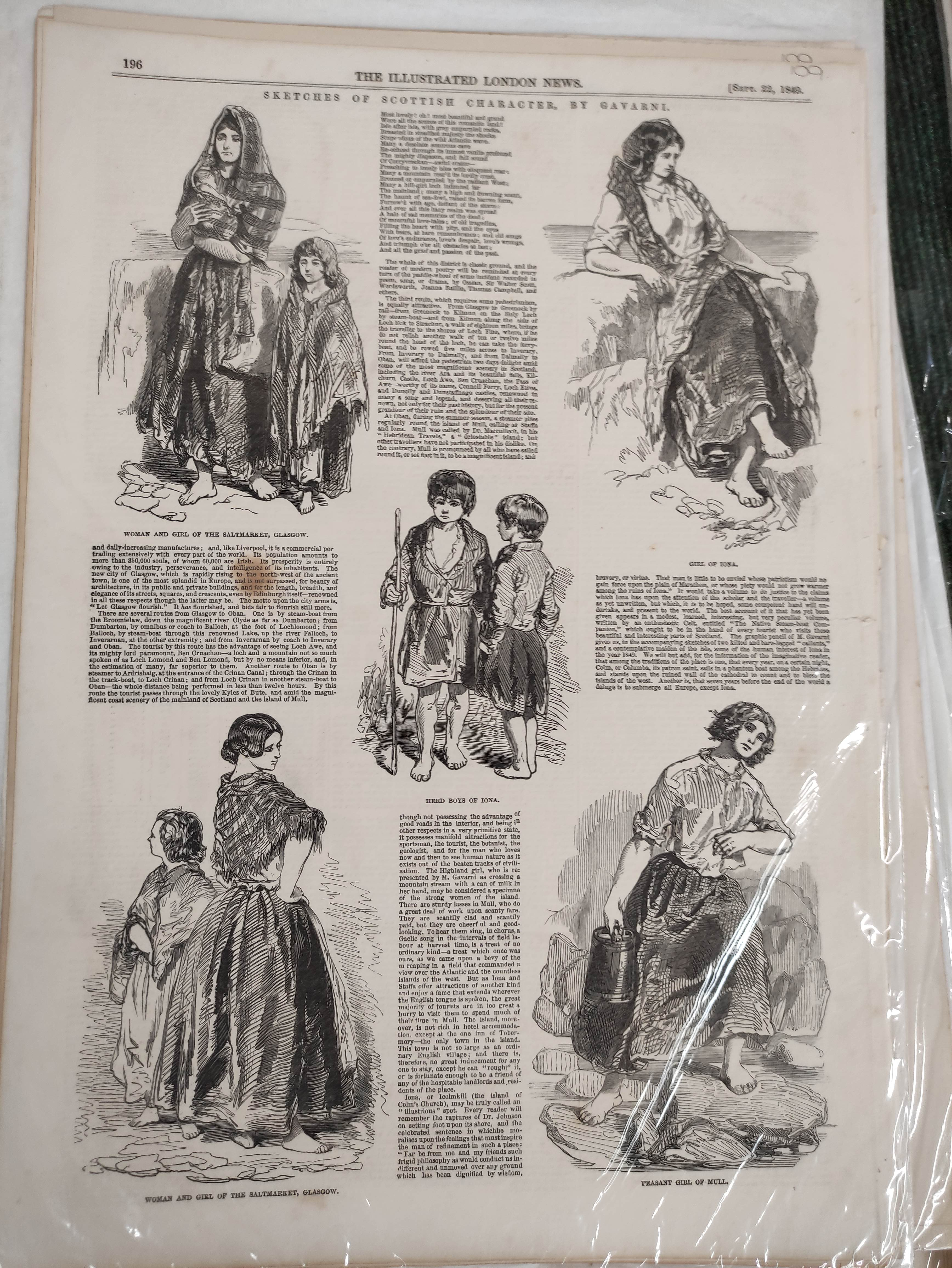 Illustrated London News, The Graphic & other periodicals. A collection of extracts & loose illus. - Image 4 of 9