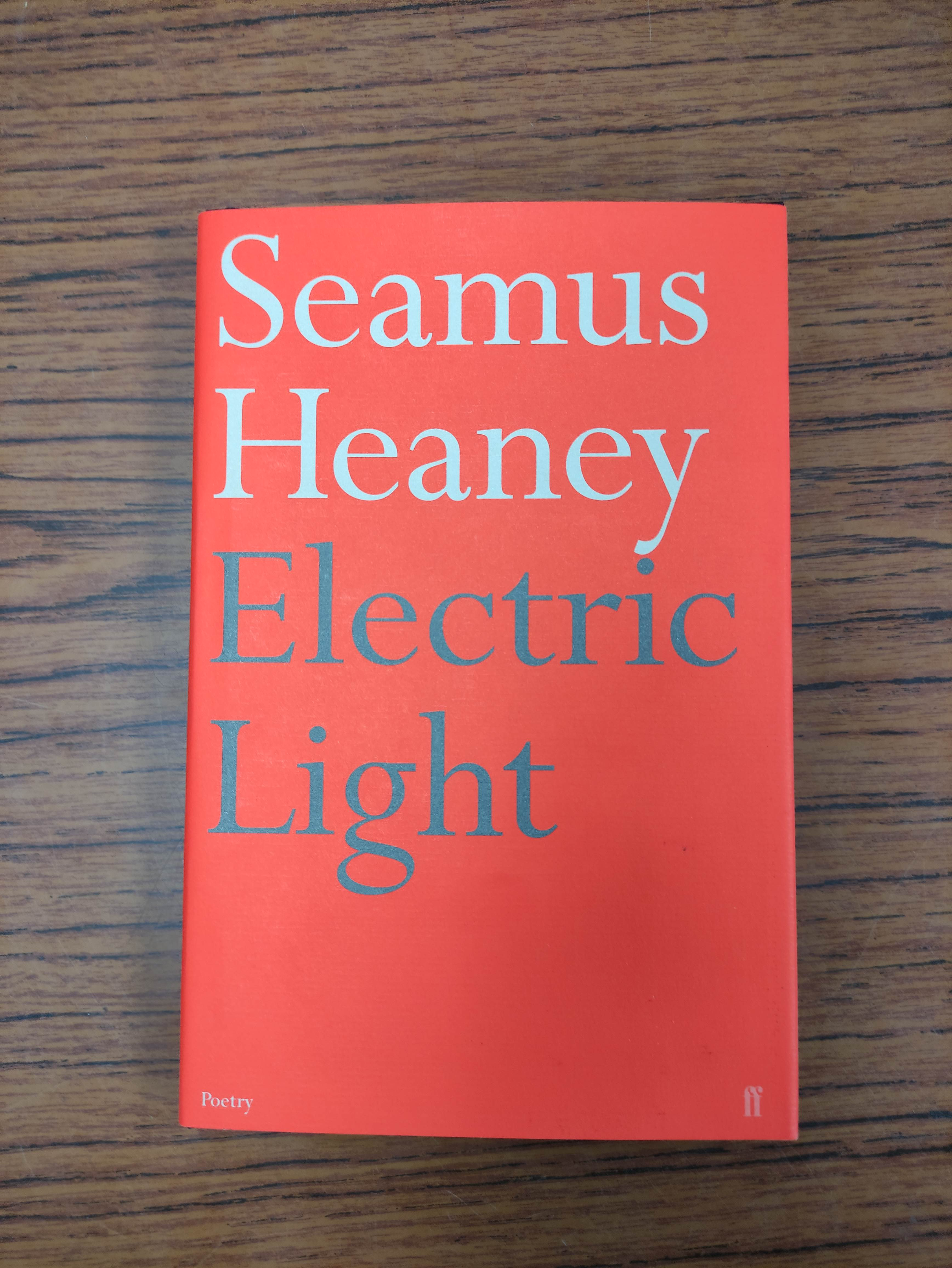 HEANEY SEAMUS. Electric Light. Ltd. ed. 297/300 signed by Heaney. Slip case, sealed in orig. - Image 4 of 6