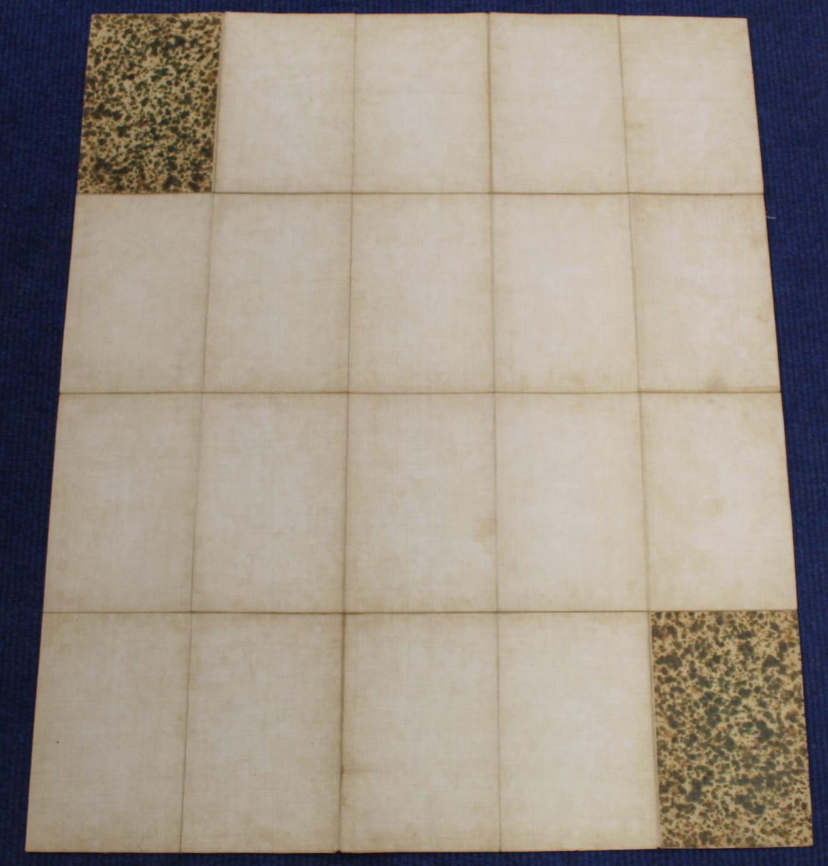 KIRKWOOD J. & SONS.Map of Scotland. Hand col. eng. fldg. linen map in well worn orig. slip case. - Image 36 of 36