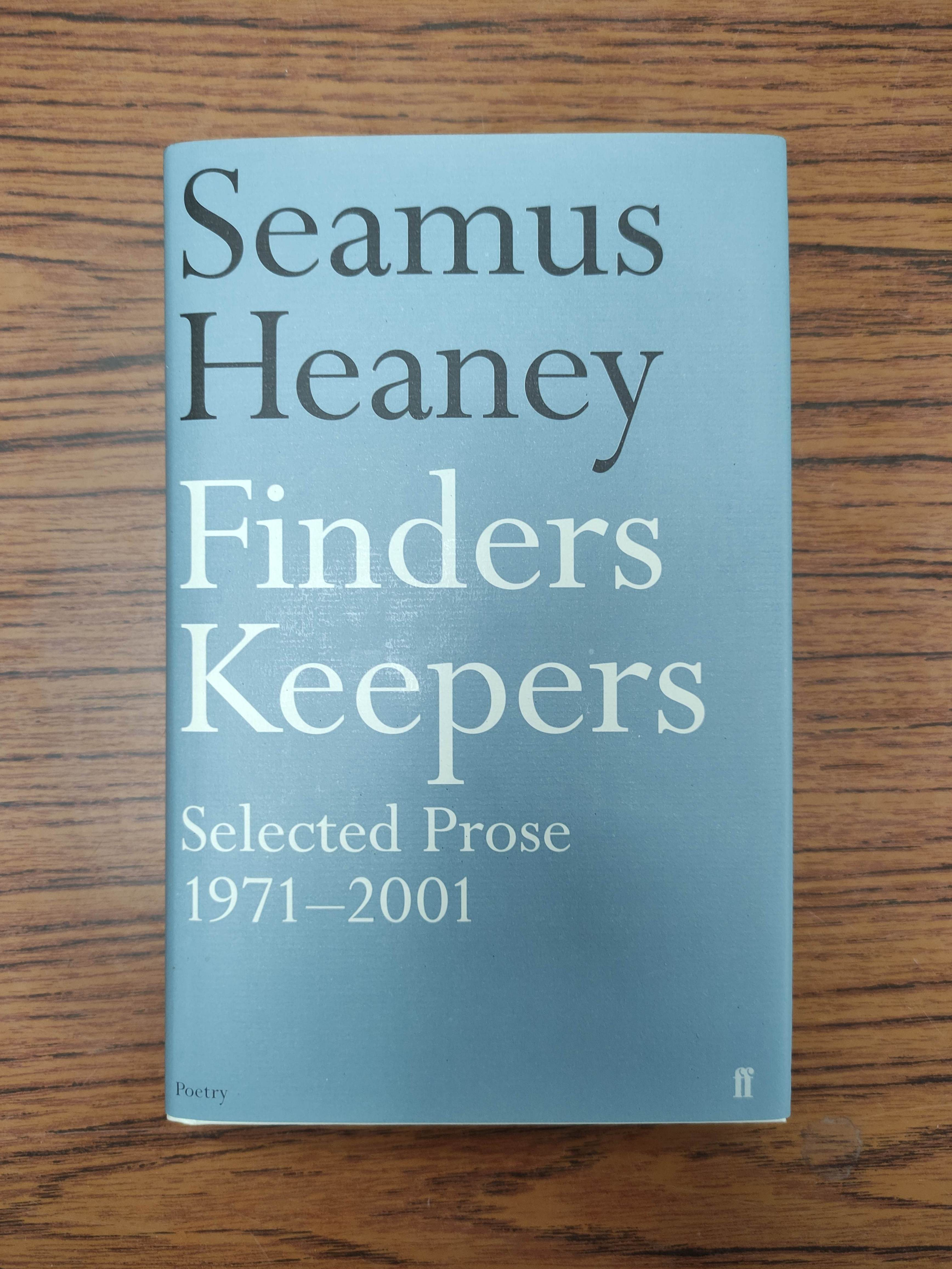 HEANEY SEAMUS. Sweeney Astray. Signed by Heaney. Orig. brown & lime green cloth & brds. in d.w. - Image 7 of 9