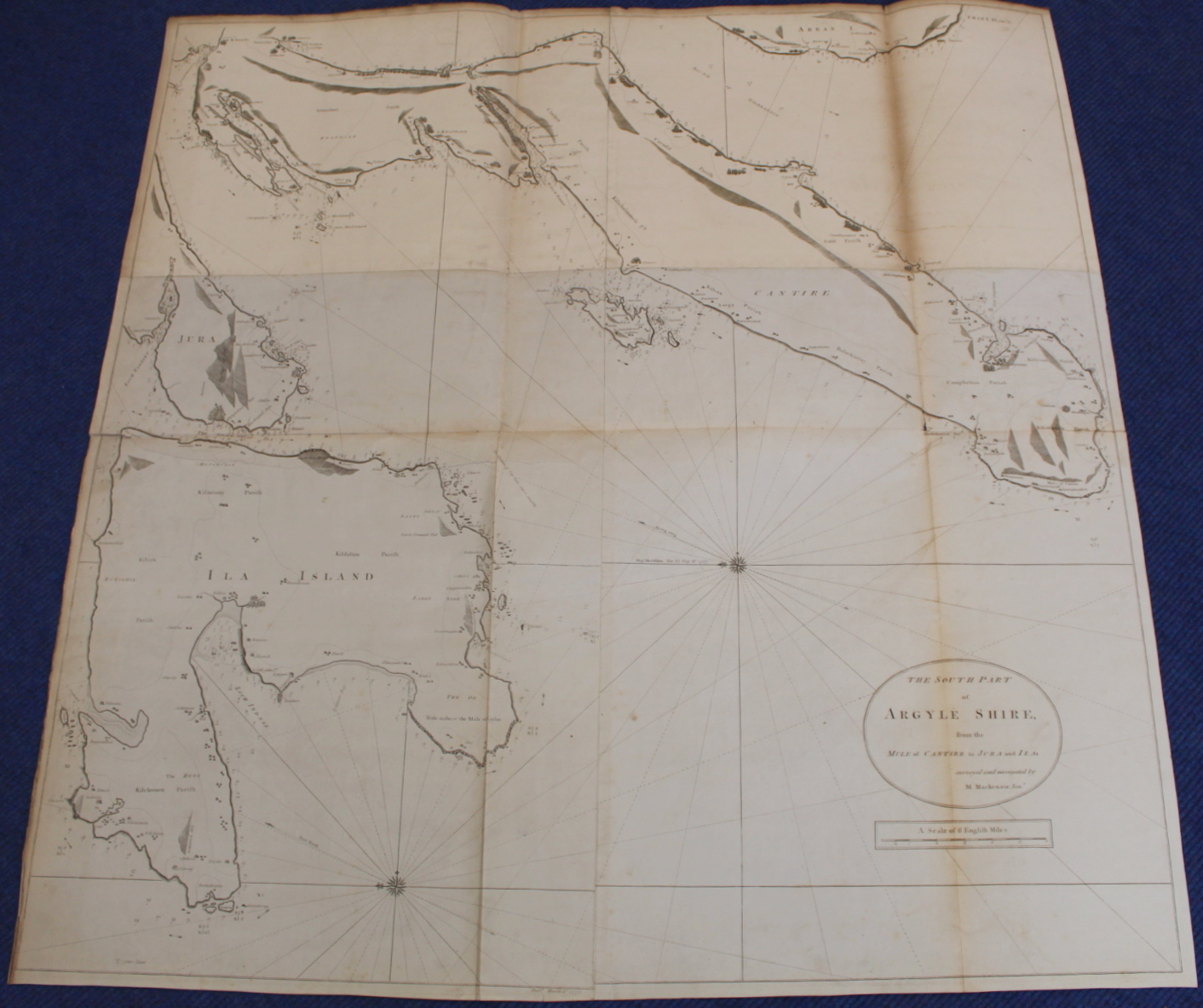 MACKENZIE MURDOCH (SNR.).A General Chart of the West Coast & Western Islands of Scotland from - Image 8 of 66