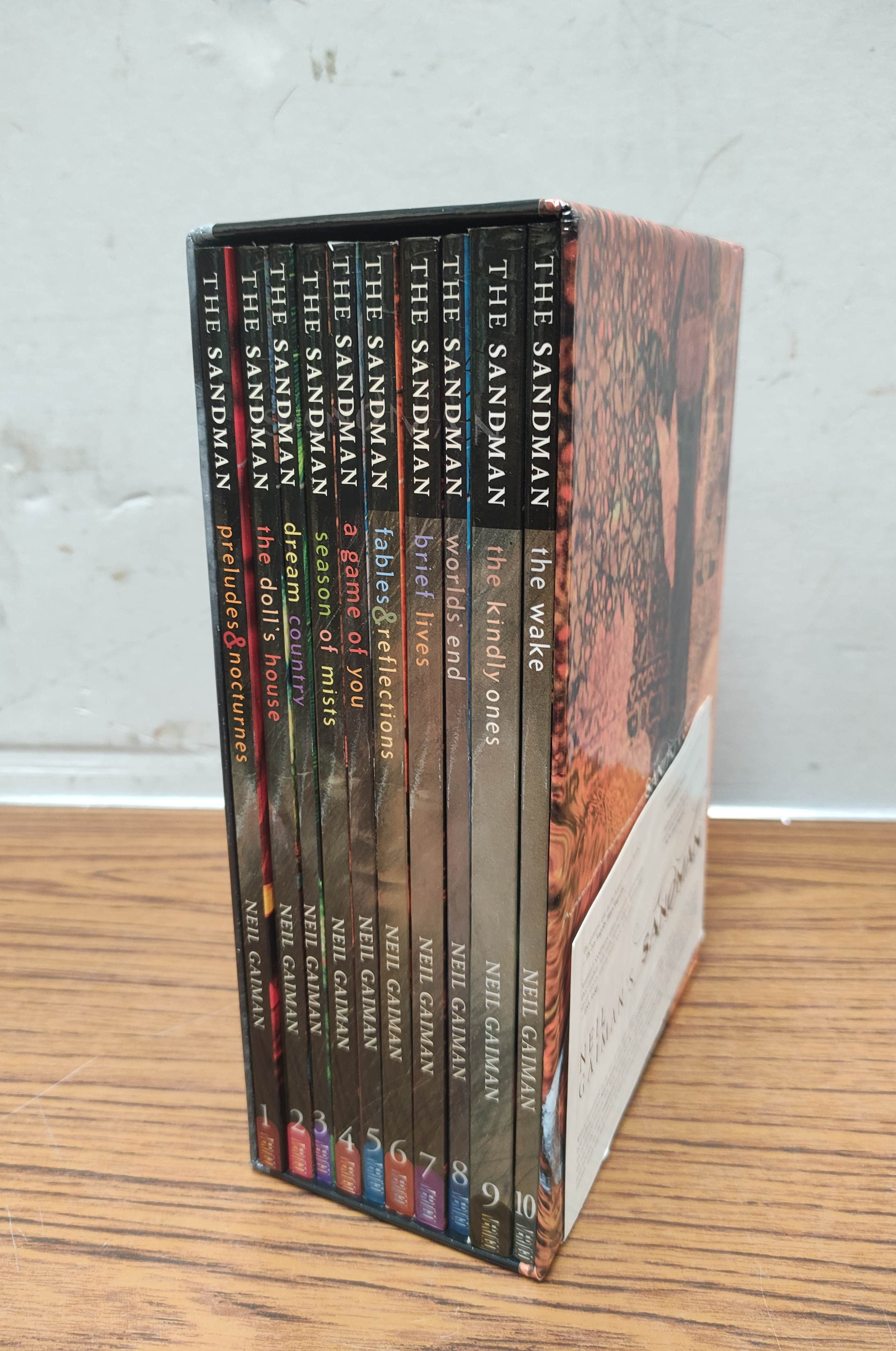 GAIMAN NEIL.The Sandman. Vols. 1 to 10 in wrappers & slip case; also 5 others, Neil Gaiman. - Image 3 of 17