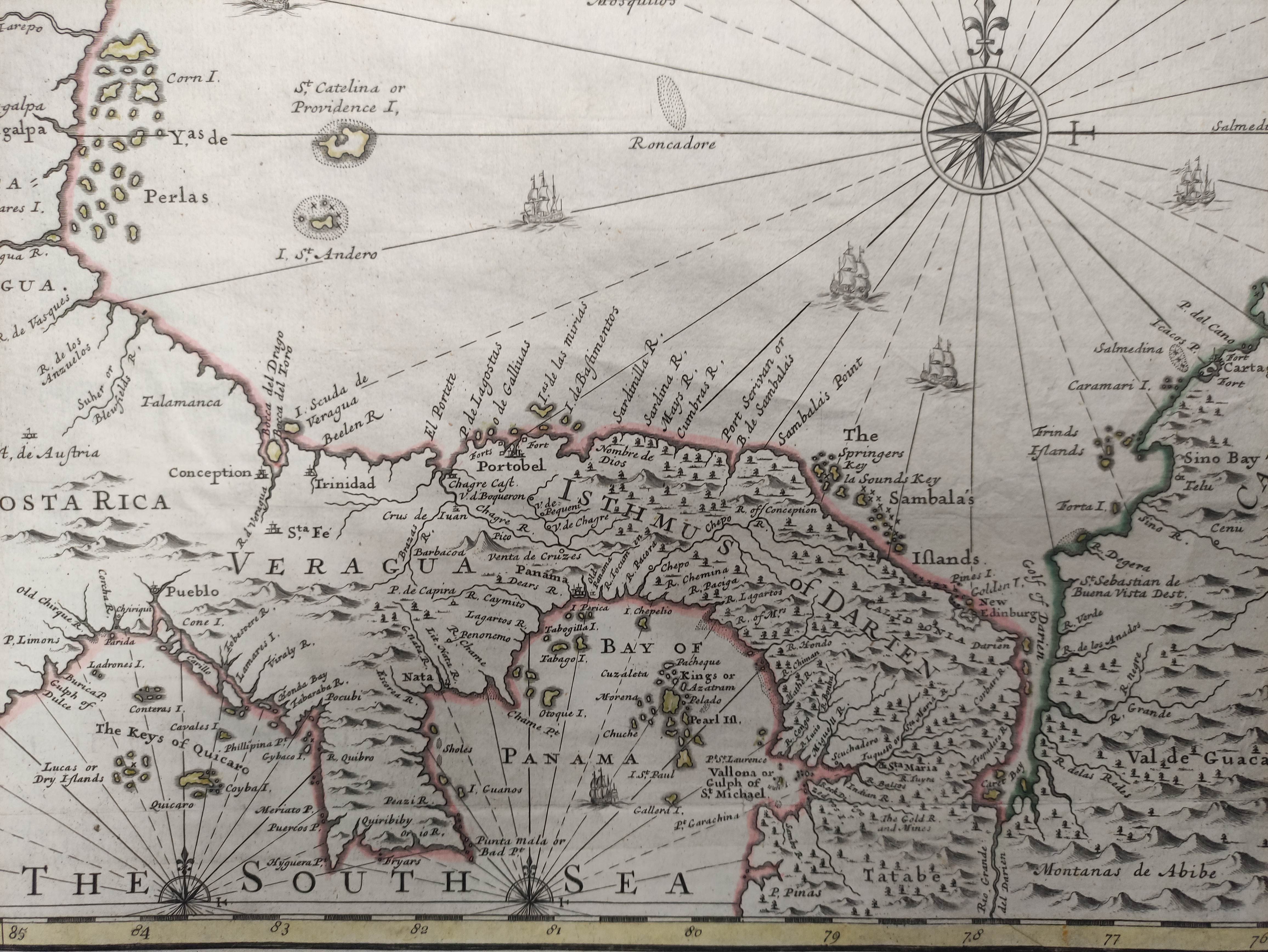 JENEFER CAPTAIN (JOHN).A Draft of the Golden & Adjacent Islands, with Part of the Isthmus of - Image 6 of 8