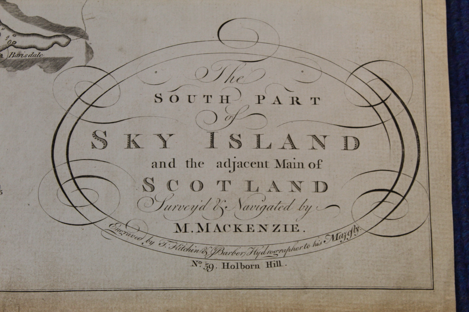 MACKENZIE MURDOCH (SNR.).A General Chart of the West Coast & Western Islands of Scotland from - Image 13 of 66