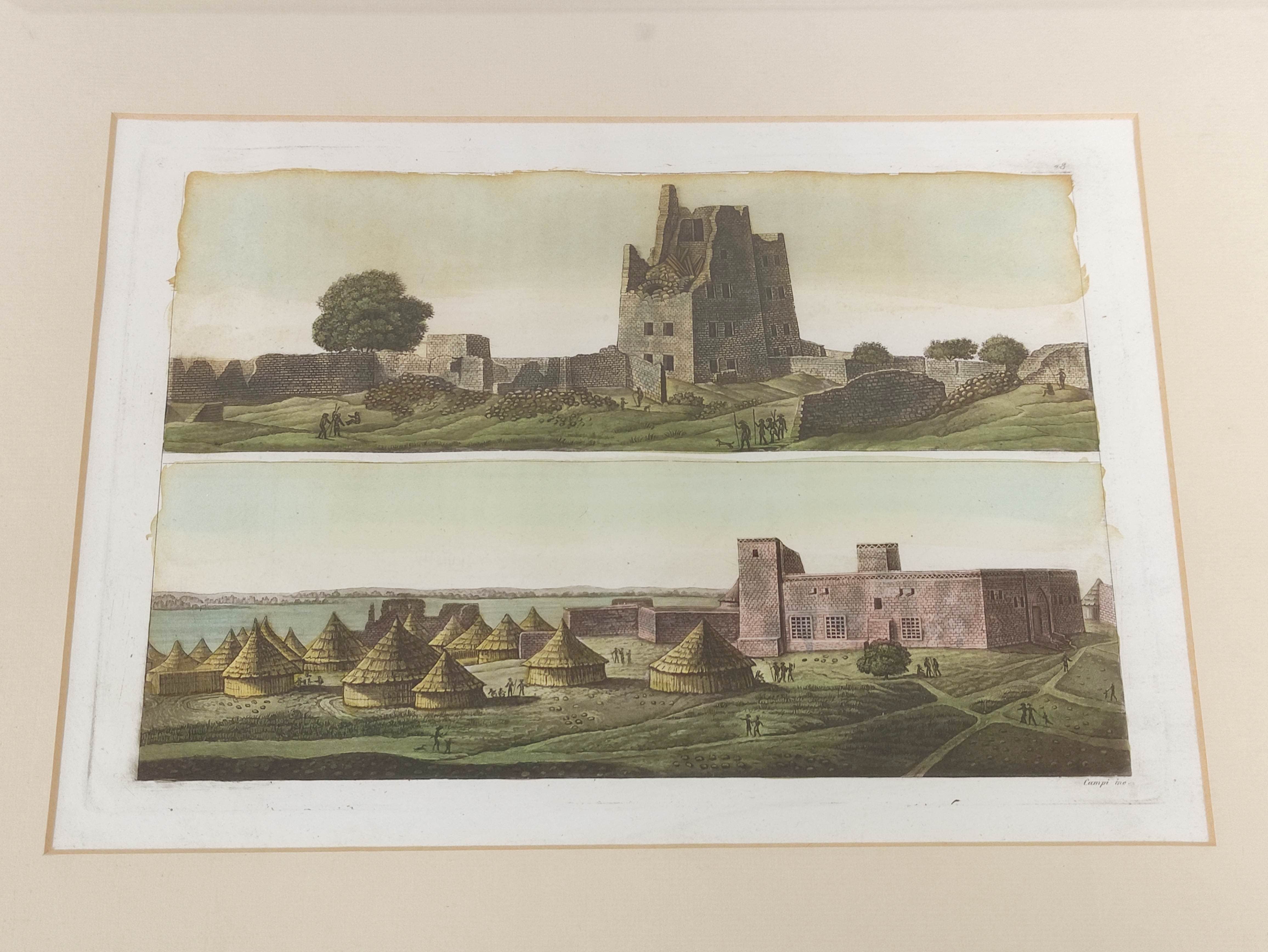 HORATIO McCULLOCH.Coast of Sleate, Isle of Skye, hand coloured lithograph; also 4 other - Image 2 of 5