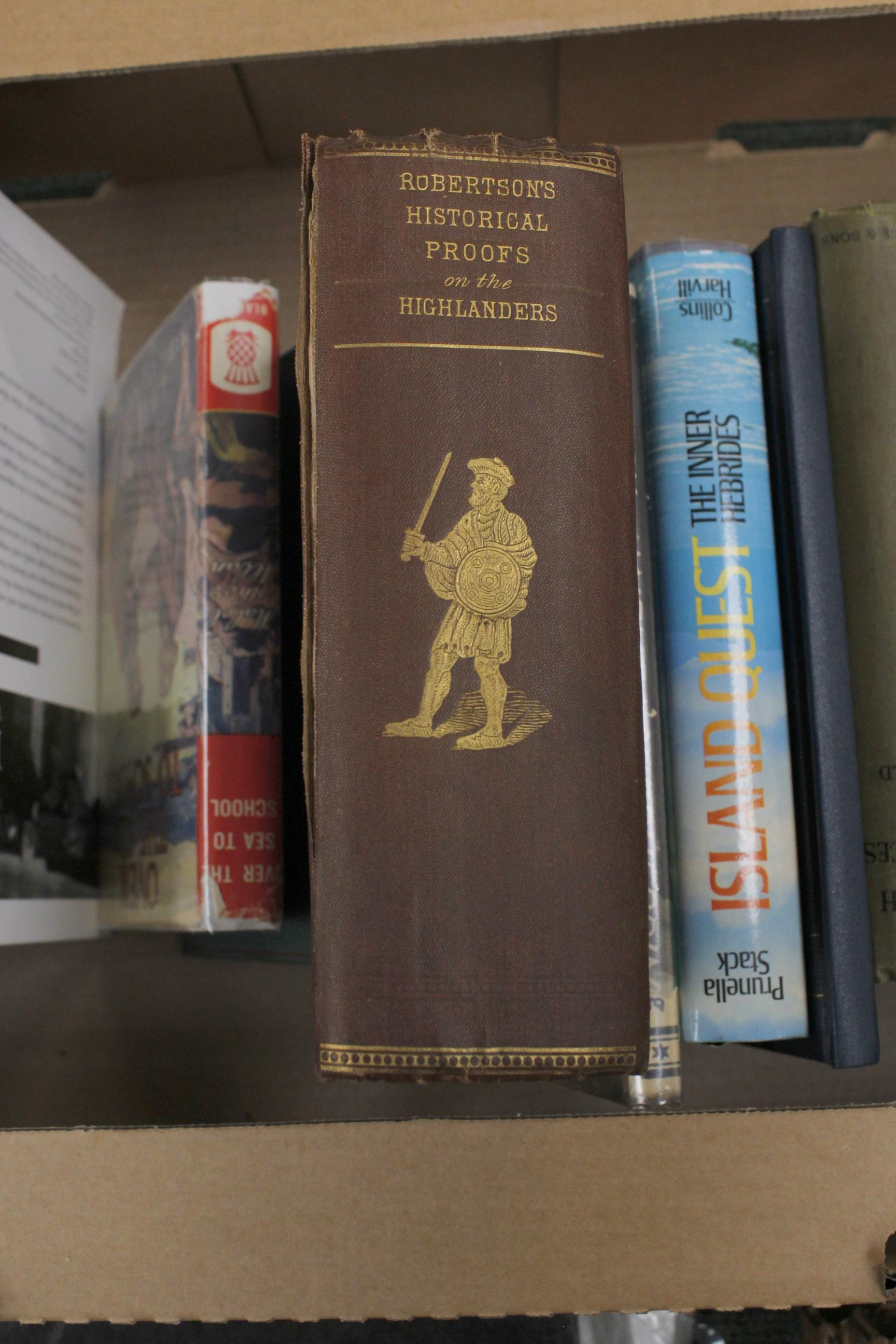 Scotland.A carton of vols. incl. Highlands & Islands. - Image 2 of 5