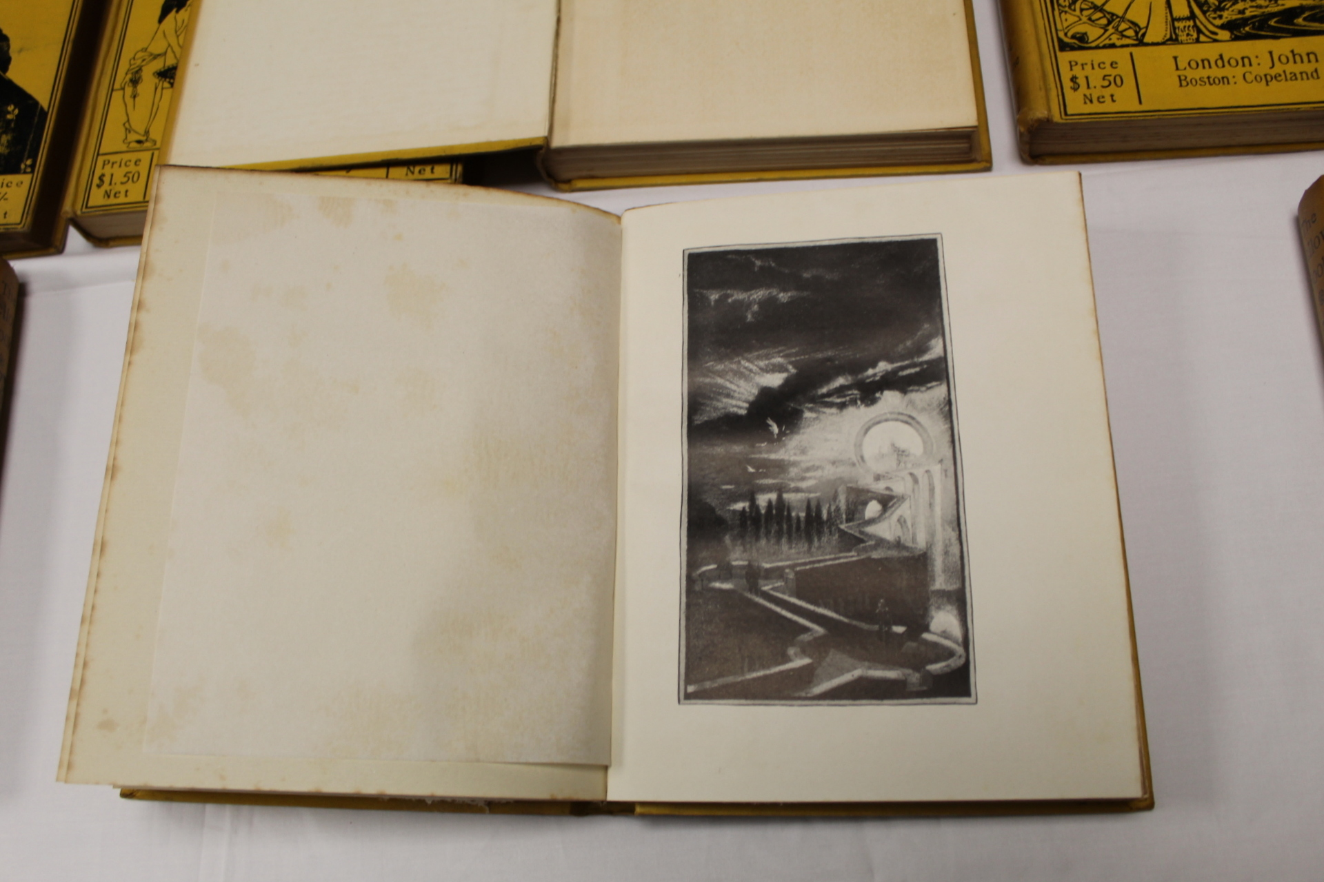 THE YELLOW BOOK.An Illustrated Quarterly. A set of 13 vols., many fine illus. Small quarto. - Image 25 of 45