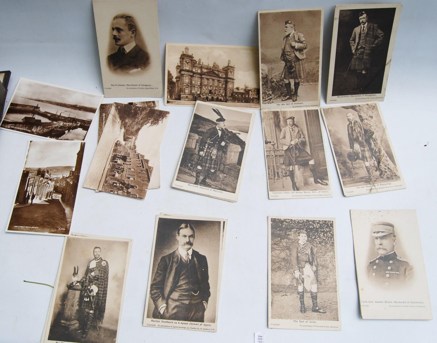 Victorian photograph album belong to Harden Burnley, signed 1870, comprising of royalty, officers - Image 3 of 10