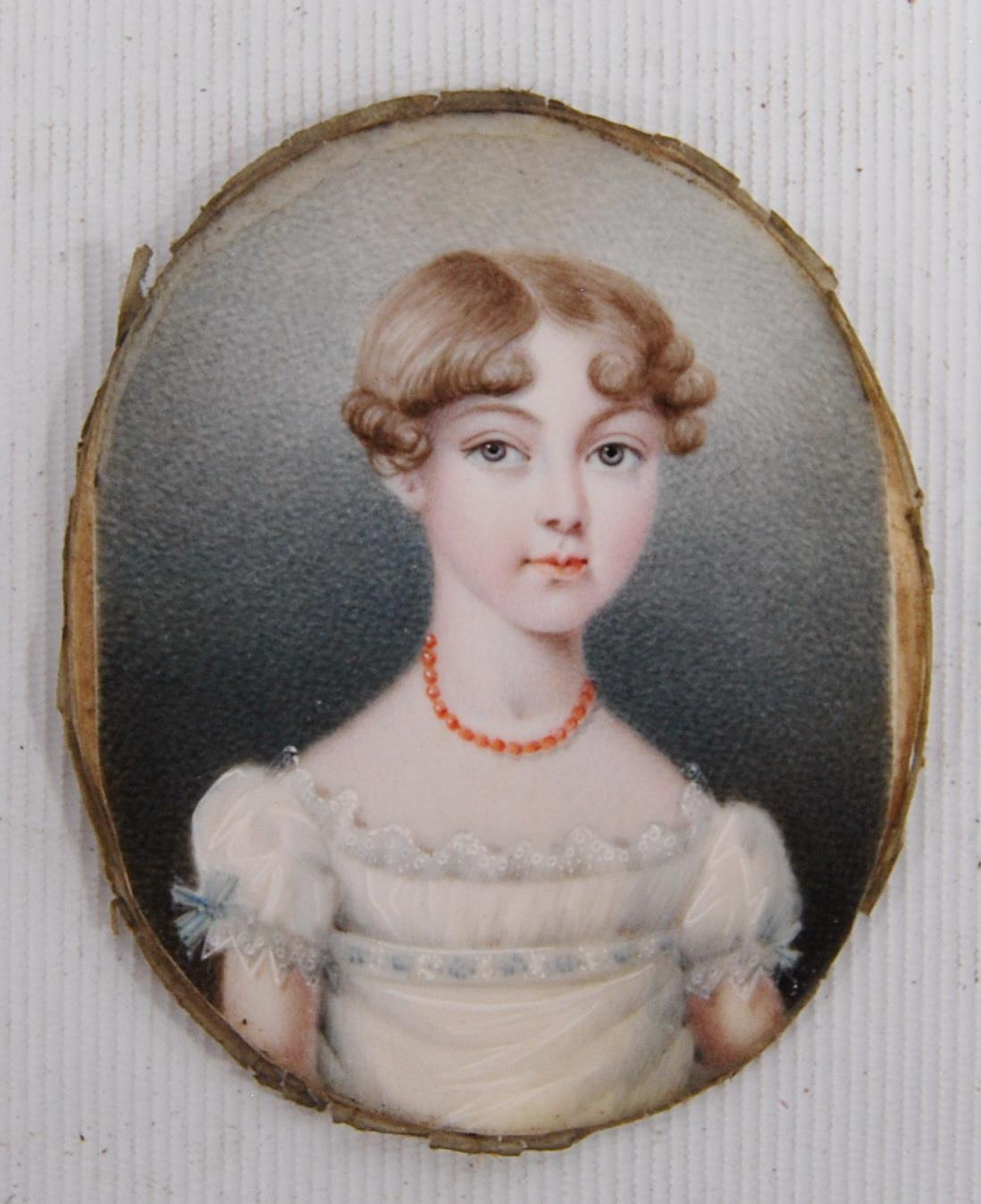 JC Browning (c. 1824) 19th century portrait - Image 2 of 3
