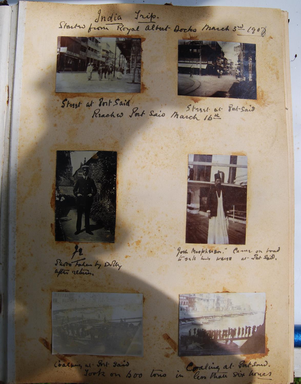 Fine Edwardian photograph album, c. 1907, relating to the Pitt family comprising Henley Regatta, - Image 8 of 22