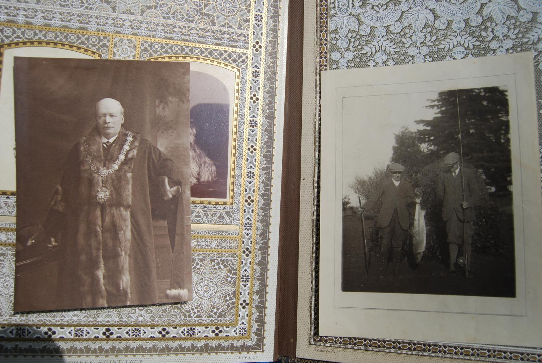 Fine Edwardian photograph album, c. 1907, relating to the Pitt family comprising Henley Regatta, - Image 12 of 22