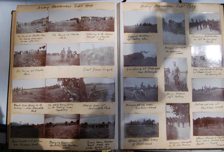 Fine Edwardian photograph album, c. 1907, relating to the Pitt family comprising Henley Regatta, - Image 3 of 22