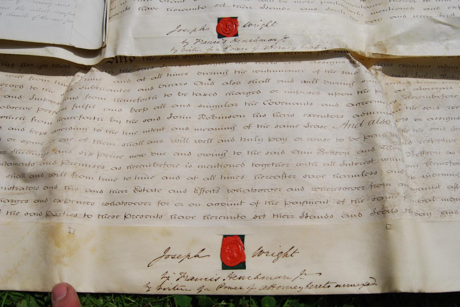 19th century and other vellum and paper deeds relating to Lichfield, Dam Street, predominantly - Image 10 of 12