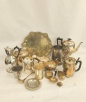 E.P. engraved waiter, a b.m. mug 'Hertford College 'Torpid Fours'' and various other items of