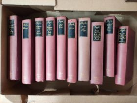 PEACOCK THOMAS LOVE.The Halliford Edition of The Works. 10 vols. Ltd. ed. 675. Col. port. frontis.