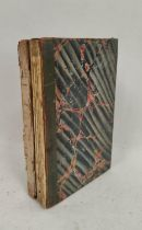 ANON.(French history). Notes Ecrite a Geneve en 1829. A manuscript military & political history of