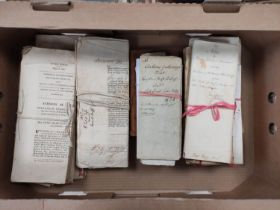 FAMILY OF DUFF, of Muirtown, etc.2 manuscript account books, c.1807/1815 & a carton of bundles