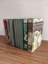 Collins New Naturalist Series.Mushrooms & Toadstools. 1st ed. in d.w. 1953; also 3 other New