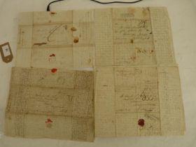 "McNAB WILLIAM,Buenos Aires & Montevideo.6 very detailed & descriptive manuscript ""ship letters"" &"