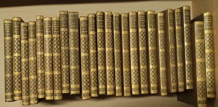 WELLS H. G.The Collected Essex Edition of The Works. 24 vols. 12mo. Orig. brown cloth, gilt backs.