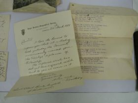 BURNLEY-CAMPBELL LT. COL. HARDIN (1843-1920).Letts's Diary & Almanac for 1878 with many manuscript