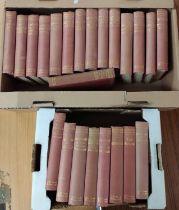 CONRAD JOSEPH.The Uniform Edition of The Works. 22 vols. Orig. red cloth gilt. 1923; also Conrad's