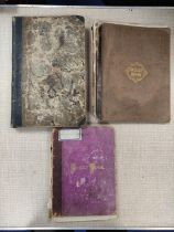 DUFF H. R., of Muirtown.Manuscript account & commonplace book with some cuttings & loose ephemera