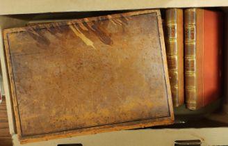 LEE S. L. (Ed).The Boke of Duke Huon of Burdeux. 2 vols. Large paper. Half calf. English Text