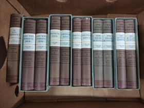 TROLLOPE ANTHONY.The Oxford Trollope, Crown Edition. 11 vols. (of 15) in d.w's & mainly in slip