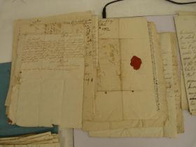Letters by Scottish Women.An interesting collection of 40 plus manuscript letters spanning the