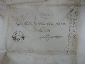 George III Military Commissions,Argyllshire Volunteers, to John Campbell (Ormidale, Ardgarten),
