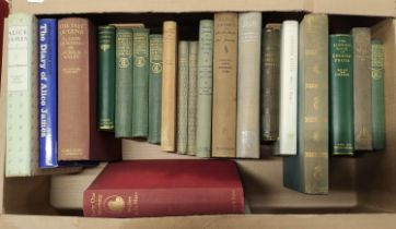 Poetry & Literature.A carton of various vols.