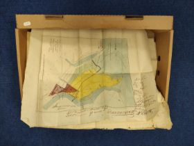CUMMING THOS. (Surveyor).Plan of the Lands in Dispute between Major Hugh R. Duff of Muirtown & the