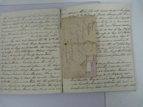 WARRAND CATHERINE M., , later Catherine Grant of Bught.2 manuscript diaries of a Scottish