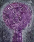 Rufino Tamayo, Oaxaca 1899 - 1991 Mexico City, Cabeza Morada (violetter Kopf)