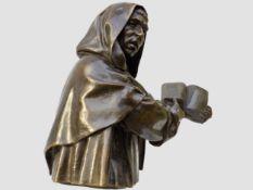 Girolamo Savonarola Büste, Italien/Florenz, 16./19. Jahrhundert