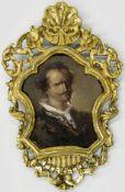 """Englischer Künstler """"Portrait Lara Lord Byron"""", Ende 18. Jahrhundert"""