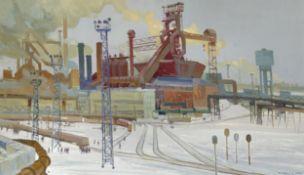 "Viktor Slushnik, geb. 1926 in Odessa, ""Factory"""