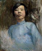 Wilhelm Thöny, Graz 1888 - 1949 New York, Portrait einer Chinesin