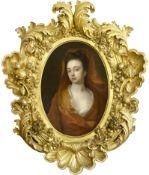 Englischer oder französischer Meister, Ende 17. / 18. Jahrhundert, Portrait einer jungen Dame