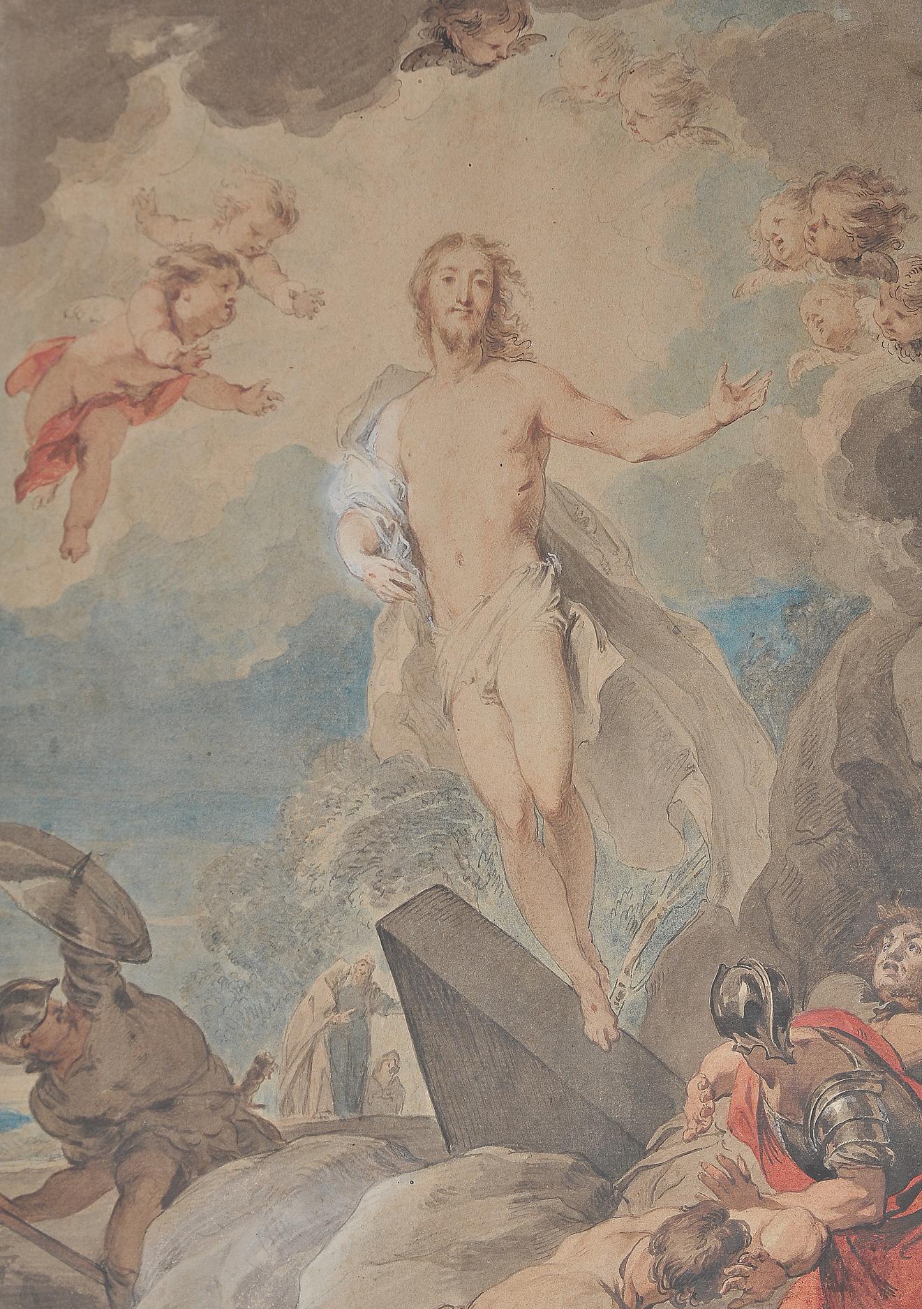Jakob de Witt, Amsterdam 1695 - 1754, Auferstehung - Image 6 of 9