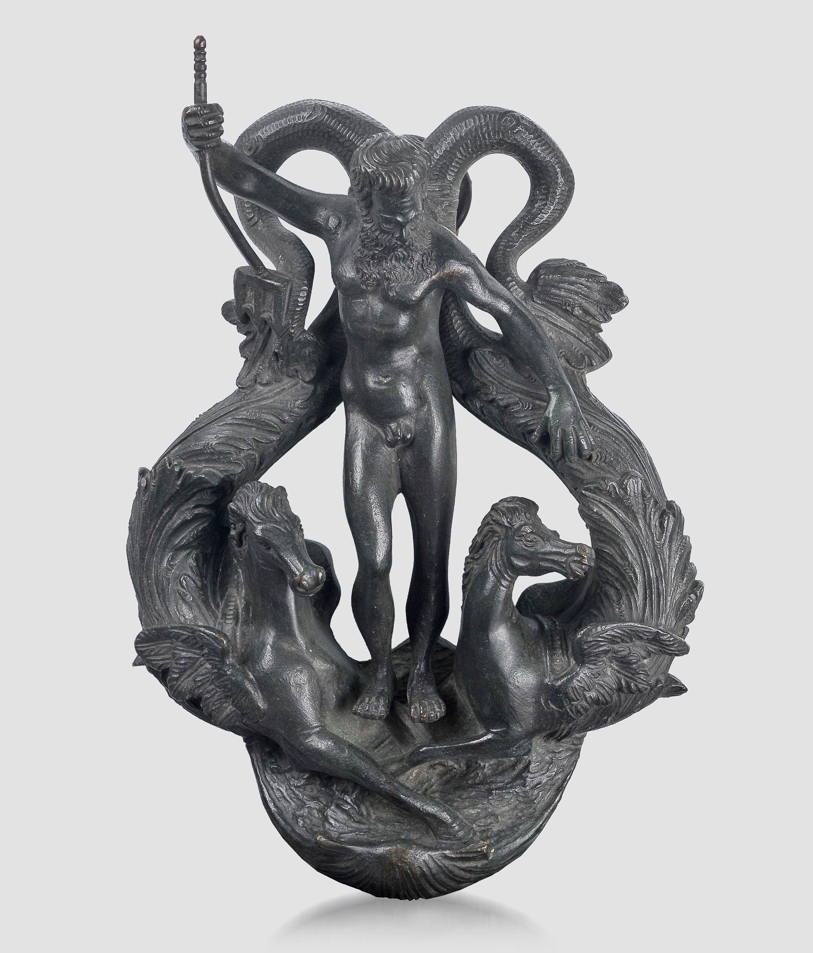 Türklopfer, Renaissancetypus, Bronze