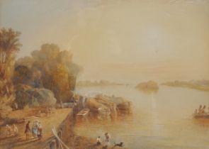 George Scharf, Marienburg 1788 – 1860 London, Landschaft